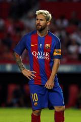 Football Soccer - Sevilla v Barcelona - Spanish SuperCup first leg