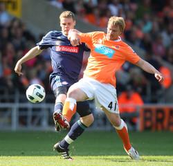 Blackpool v Stoke City Barclays Premier League