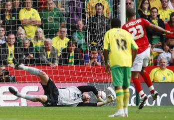Nottingham Forest v Norwich City npower Football League Championship
