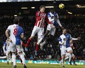 Blackburn Rovers v Stoke City Barclays Premier League