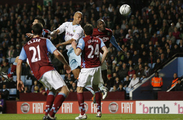 Aston Villa v Burnley Carling Cup Fourth Round