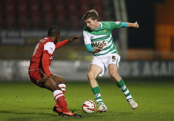 Leyton Orient v Yeovil Town - Johnstone's Paint Trophy Southern Area Semi Final