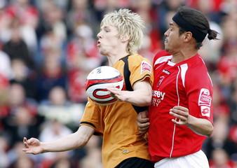 Barnsley v Wolverhampton Wanderers Coca-Cola Football League Championship
