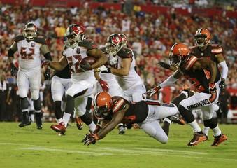NFL: Preseason-Cleveland Browns at Tampa Bay Buccaneers