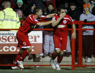 Crawley Town v Swindon Town FA Cup Second Round