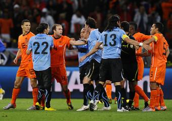 Holland v Uruguay FIFA World Cup Semi Final - South Africa 2010