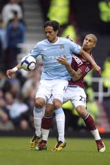 West Ham United v Manchester City Barclays Premier League