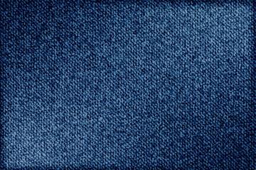 Jeans background denim pattern. Classic texture blue. Background of denim canvas. Vector.