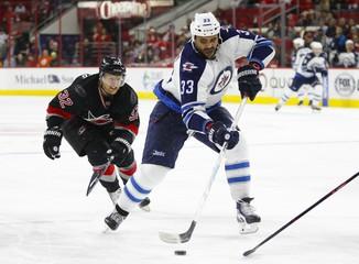 NHL: Winnipeg Jets at Carolina Hurricanes