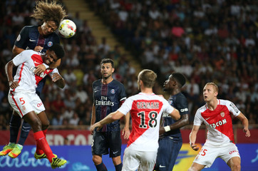 Monaco v Paris St Germain - French Ligue 1 - Louis II stadium