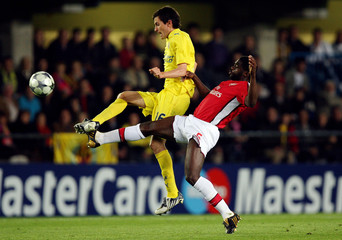 Villarreal v Arsenal UEFA Champions League Quarter Final First Leg