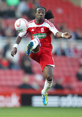 Middlesbrough v Derby County npower Football League Championship