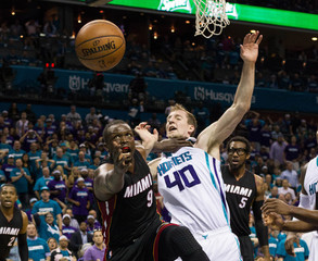 NBA: Playoffs-Miami Heat at Charlotte Hornets
