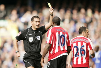 Everton v Stoke City Barclays Premier League