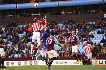 Aston Villa v Stoke City Barclays Premier League