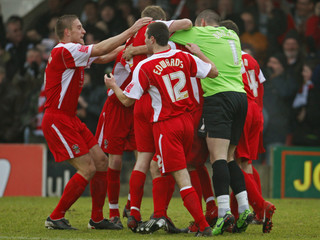 Accrington Stanley v Fulham FA Cup Fourth Round