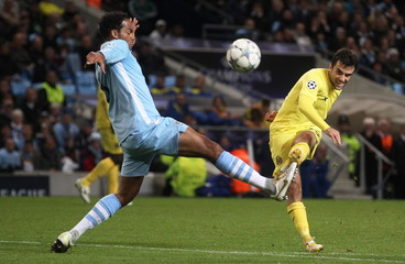 Manchester City v Villarreal UEFA Champions League Group Stage Matchday Three Group A