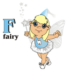 Fairy, wings, magic, fantasy, little, cartoon, girl,  magic, butterfly, Fairy tale, symbol, teeth, tooth fairy, words, name, letters, f, wand, stand