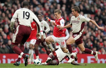 Arsenal v Sunderland Barclays Premier League