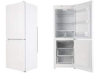refrigerator on a white background