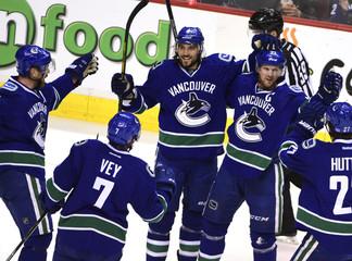 NHL: Minnesota Wild at Vancouver Canucks