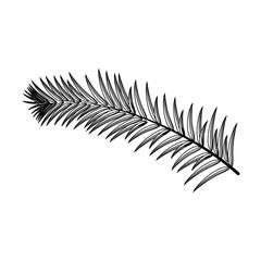 Plant ecology symbol icon vector illustration graphic design