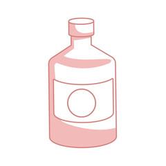 bottle medicine pharmacy element health vector illustration