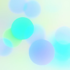 Sweet Colors Bokeh Background