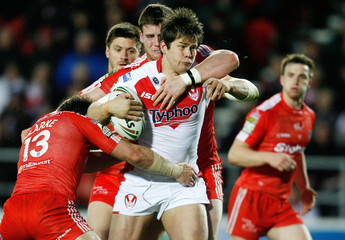 St Helens v Widnes Vikings Stobart Super League