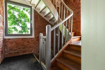 Treppe Holz Treppenhaus