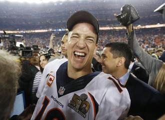 File photo of Denver Broncos' quarterback Peyton Manning after the NFL's Super Bowl 50 football game in Santa Clara