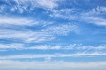 Beautiful summer sky in clouds