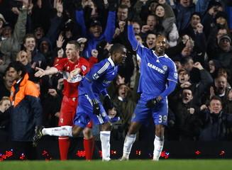 Chelsea v Middlesbrough Barclays Premier League