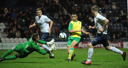 Preston North End v Norwich City - FA Youth Cup Third Round