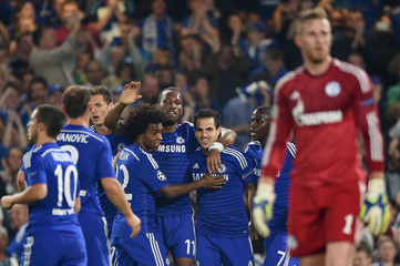 Chelsea v FC Schalke - UEFA Champions League Group Stage Matchday One Group G