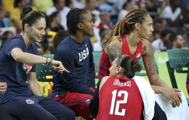 Basketball - Women's Semifinal France v USA