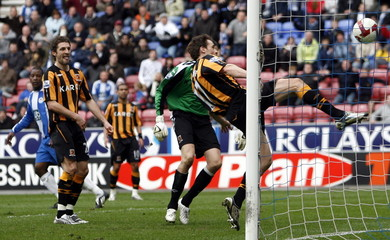 Wigan Athletic v Hull City Barclays Premier League