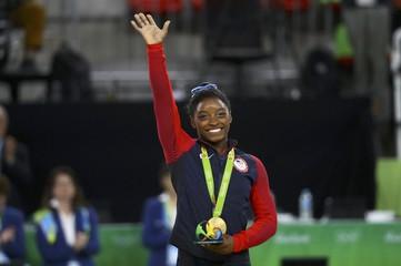 Artistic Gymnastics - Women's Individual All-Around Victory Ceremony