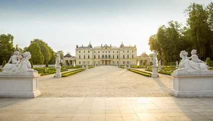Pałac Branickich w Białymstoku, Polska