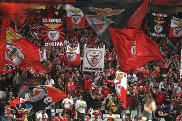SL Benfica v PSV Eindhoven UEFA Europa League Quarter Final First Leg