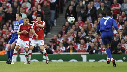 Arsenal v Manchester United UEFA Champions League Semi Final Second Leg