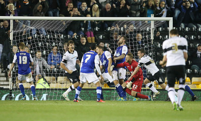Derby County v Ipswich Town - Sky Bet Football League Championship