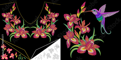 Embroidery Design Embroidered Collection For Fabric Patterns