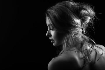 Портрет со спины