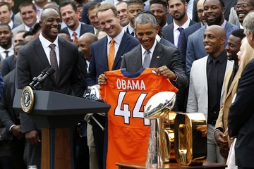 NFL: Super Bowl Champion-Denver Broncos White House Visit