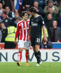 Stoke City v Burnley - Bar