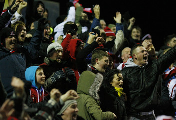 Yeovil Town v Fleetwood Town FA Cup Second Round Replay
