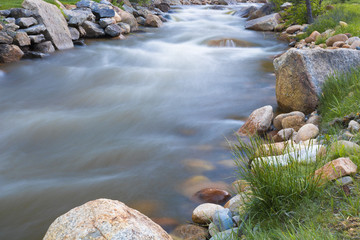 River running through Rocky Mountain National Park