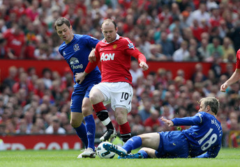 Manchester United v Everton Barclays Premier League