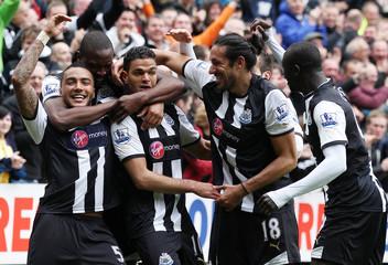 Newcastle United v Bolton Wanderers Barclays Premier League